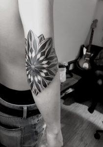 Mandala Tribal Tattoo