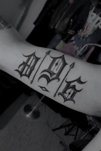 3 6 9 Number Tattoo
