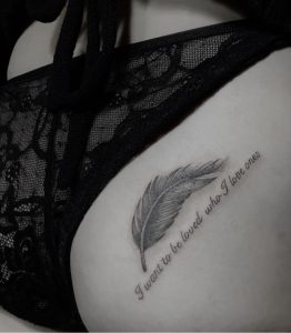 Feather Tattoo Tokyo